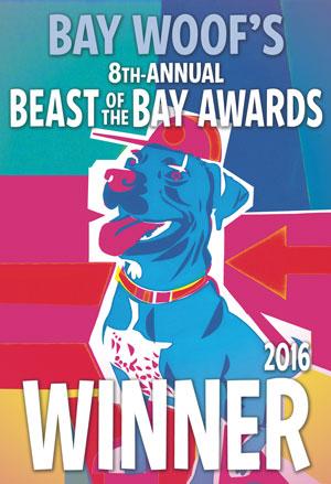 8th annual beast of the bay award winner 2016